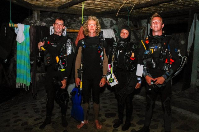 Marine Conservation - Night Dive